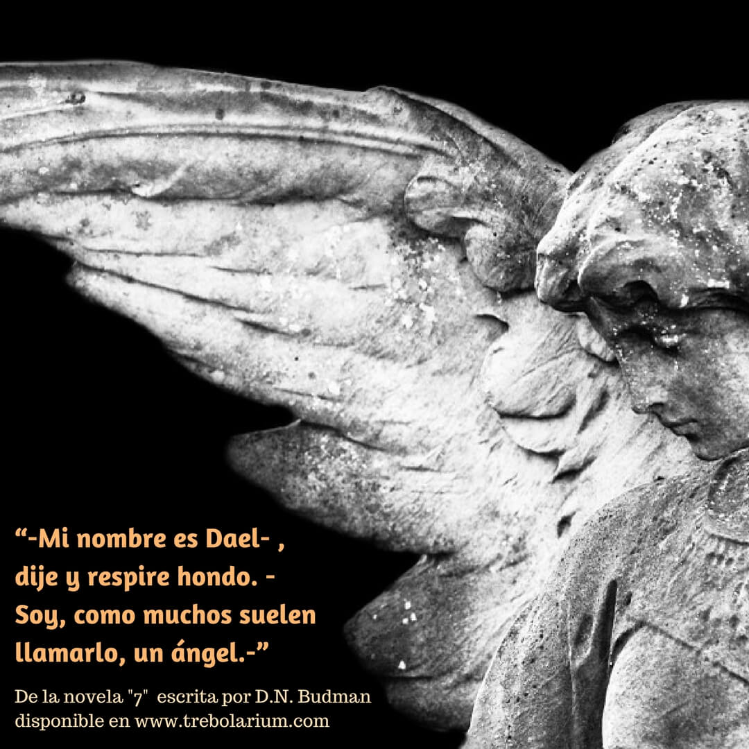 "Presentación de la novela ""Siete"" de D.N Budman"